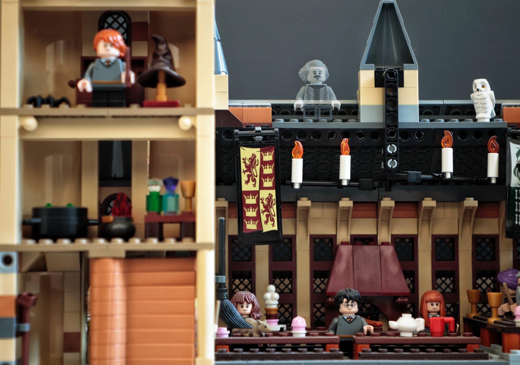 Slå fantasien løs med Harry Potter Lego